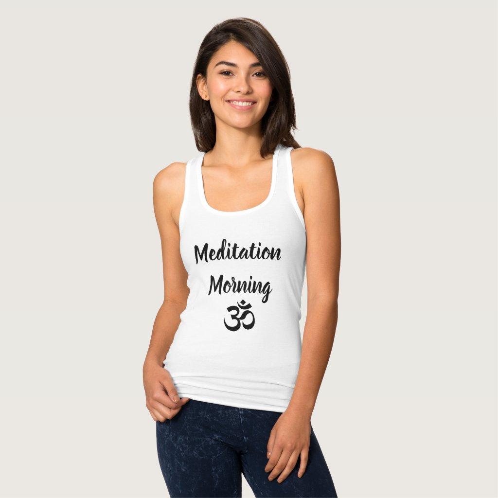 Meditation Morning Tank