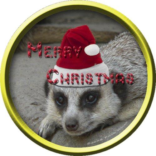 Meerkat Christmas Ornament photosculpture
