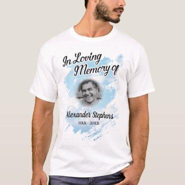 Memorial In Loving Memory Photo T-Shirt