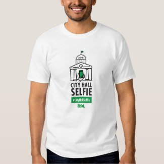 Men's Basic #CityHallSelfie T-Shirt