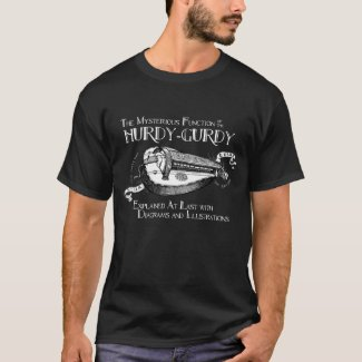 Men's Hurdy-Gurdy dark T-shirt