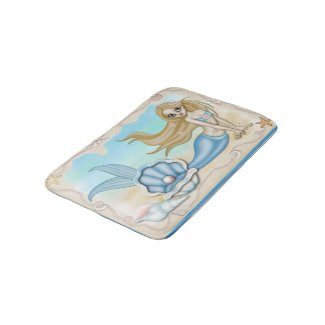 Mermaid Rug Mat Home Decor Bath Mats