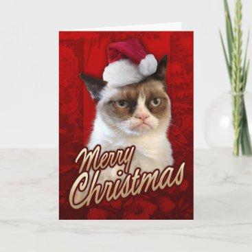 Merry Christmas Grumpy Cat Holiday Card