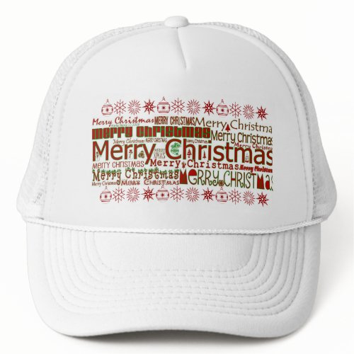 Merry Christmas Hat hat