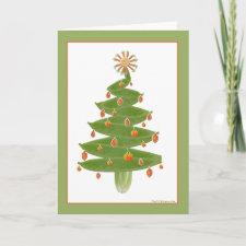 Veggie Christmas Tree Card