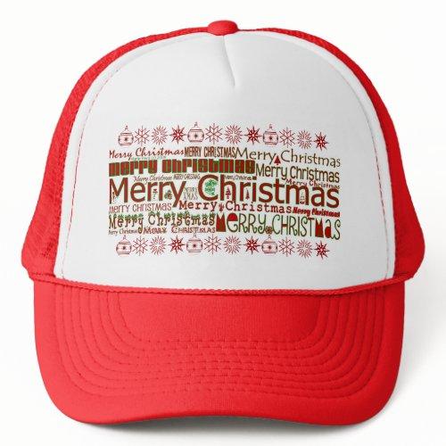 Merry Christmas - Trucker Hat hat