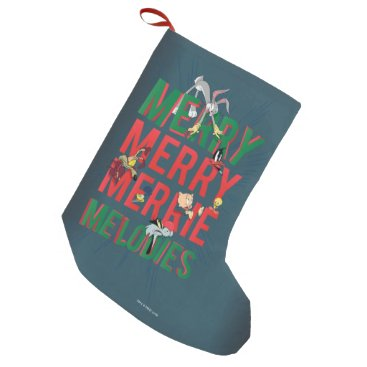 Merry Merry MERRIE MELODIES™ Small Christmas Stocking