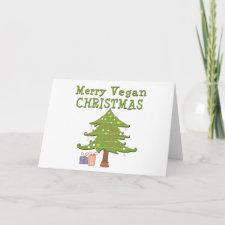 Merry Vegan Christmas Cards