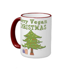 Merry Vegan Christmas mug