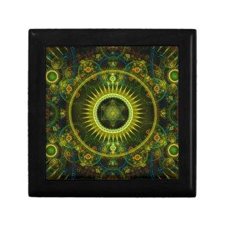 """Metatron's Magick Wheel"" - Fractal Art Gift Box"