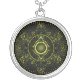 Metatron's Magick Wheel - Necklace necklace