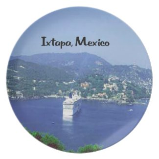 Mexico and Central America Dinner Plate