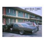 Mexico Beach, Florida 1969 Retro Motel Postcard