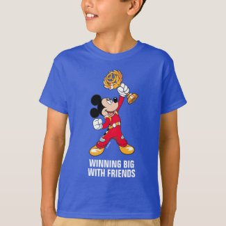 Mickey and the Roadster Racers | Mickey & Trophy T-Shirt
