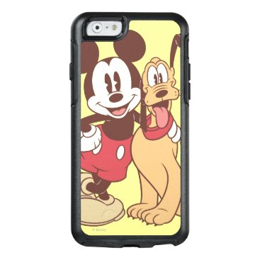 Mickey & Friends | Classic Mickey & Pluto OtterBox iPhone 6/6s Case