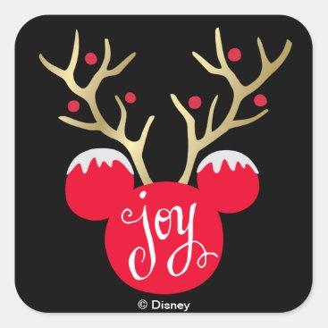 Mickey & Friends | Mickey Christmas Joy Square Sticker