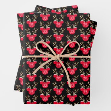 Mickey & Friends | Mickey Christmas Joy Wrapping Paper Sheets