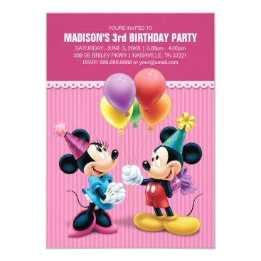Mickey & Minnie   Birthday Card