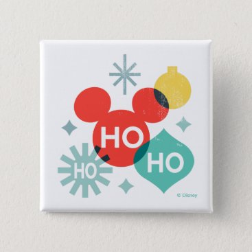 Mickey Mouse |  Ho Ho Ho Button