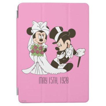 Mickey Mouse & Minnie Wedding iPad Air Cover