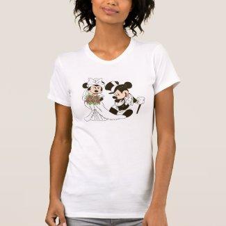 Mickey Mouse & Minnie Wedding Shirt