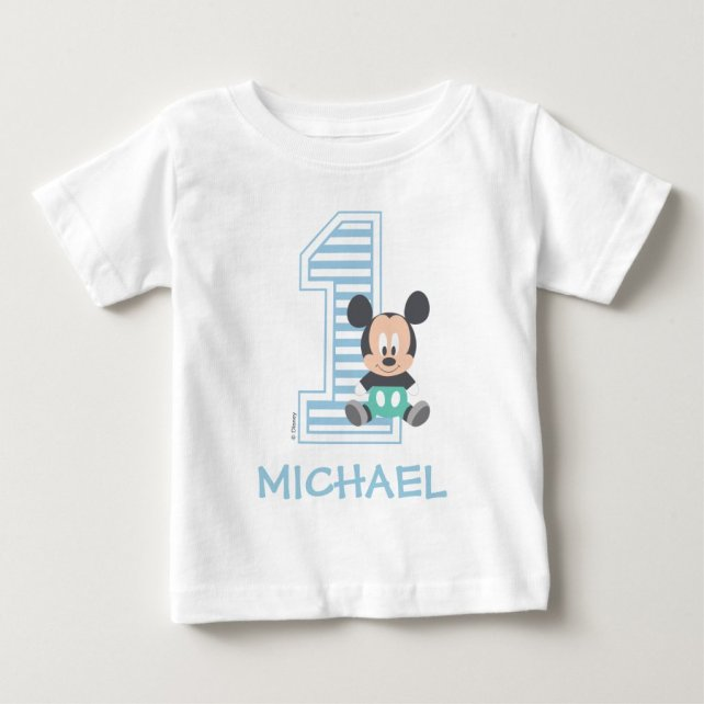Mickey Mouse | Personalized First Birthday
