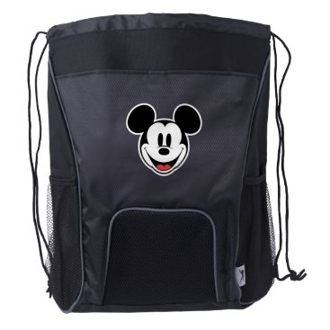 Mickey Mouse Smiling Drawstring Backpack