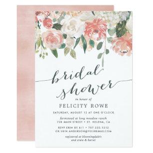 Midsummer Fl Bridal Shower Invitation