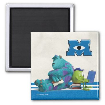 Mike and Sulley Reading Magnet