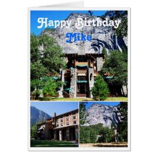Mike Happy Birthday Ahwahnee Hotel Yosemite