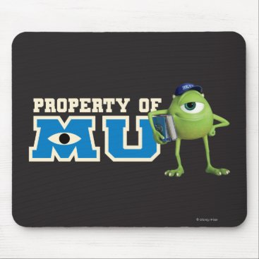 Mike Property of MU Mouse Pad