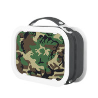 Military Camouflage Lunch Boxes