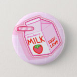❤️ Strawberry Milk Button