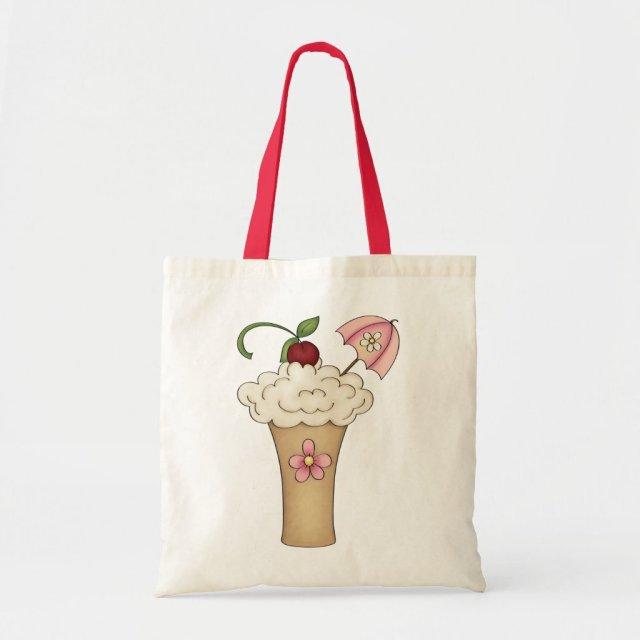 Milkshake With An Umbrella Tote Bag