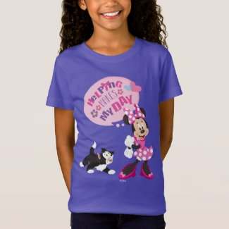 Minnie | Helping Makes My Day T-Shirt