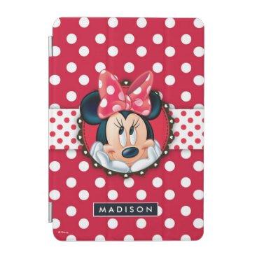 Minnie Mouse | Smiling on Polka Dots iPad Mini Cover