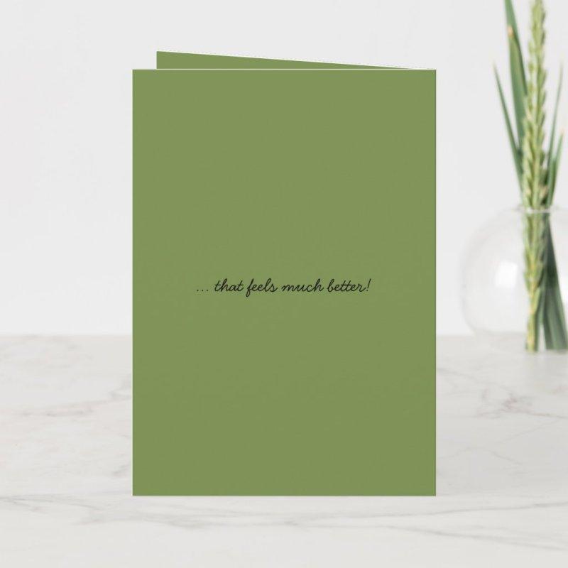 Missing You! Cute Beagle's Howl Folded Card