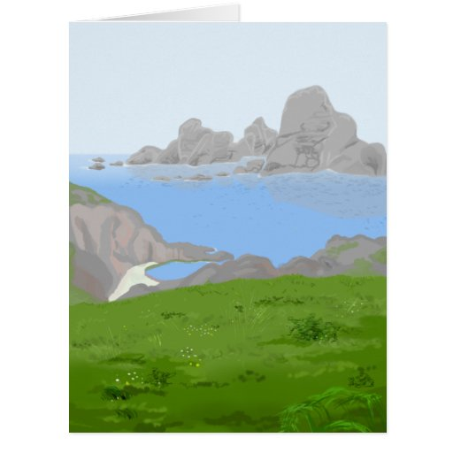 Mists of Avalon Jumbo Note Card