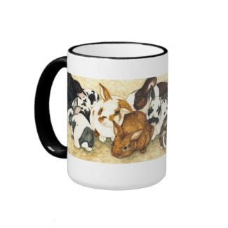 Mixed Company - Baby Rabbits Coffee Mug mug
