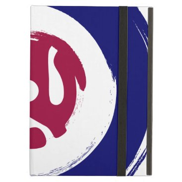 Mod Northern soul design with vinyl adaptor iPad Air Cover