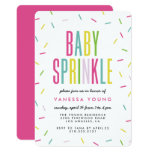 Modern Baby Sprinkle Shower Invitations