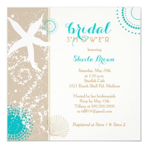Modern Wedding Shower Invitations