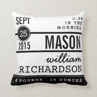 Baby Shower Pillows Decorative Throw Zazzle