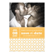 Modern Charm Save The Date Announcement