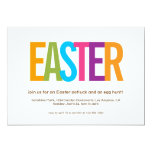 ❤️ Modern Easter Party Invitation