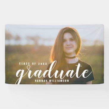 Modern Grad Photo Class of 2018 Graduation Sign