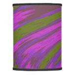 Modern Purple Green Color Swish Lamp Shade
