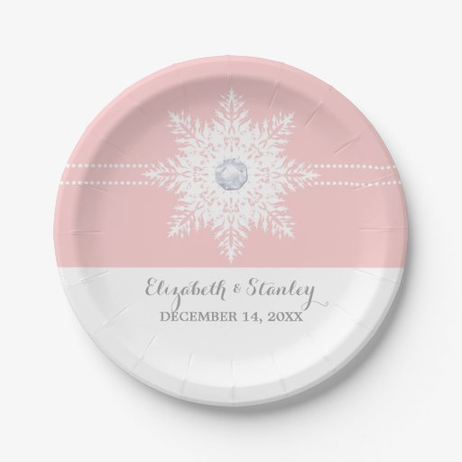 sc 1 st  Celebrations Cake Decorating & Snowflake Paper Plates And Napkins