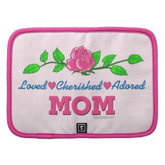 Mom Loved Cherished Adored Planners