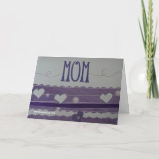 Mom - Scrapbook Card zazzle_card